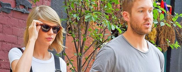 Taylor Swift und Calvin Harris im West Village in New York