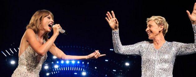 Taylor Swift und Ellen DeGeneres