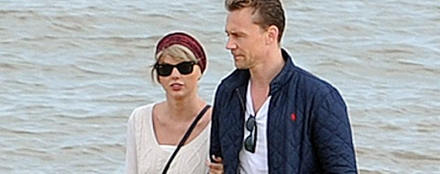 Taylor Swift und Tom Hiddleston in Suffolk
