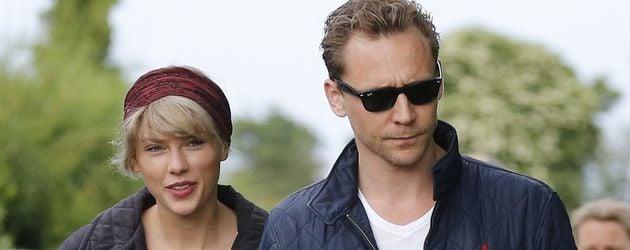 Taylor Swift und Tom Hiddleston in England
