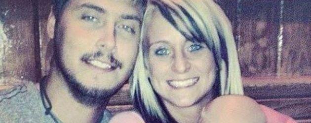 """""""Teen Mom"""" Leah Messer mit ihrem Mann Jeremy Calvert und ihrer Tochter"""