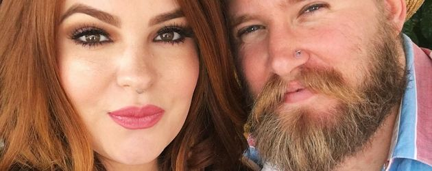 Model Tess Holliday und Künstler Nick Holliday