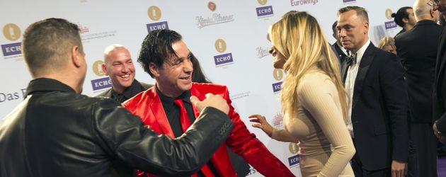 Till Lindemann und Sophia Thomalla beim Echo