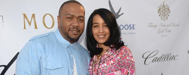 Timbaland und Monique Mosley