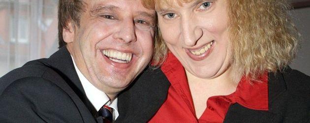 Tony Marony mit seiner Ehefrau Melany