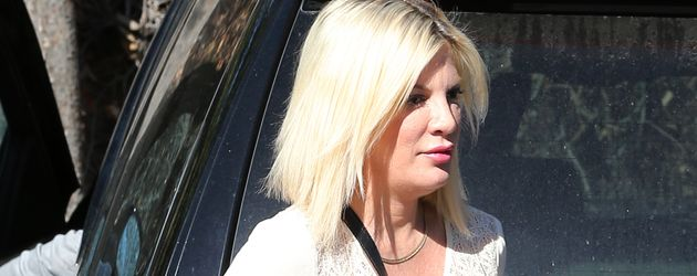 Tori Spelling in Los Angeles
