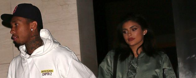 Tyga und Kylie in Los Angeles