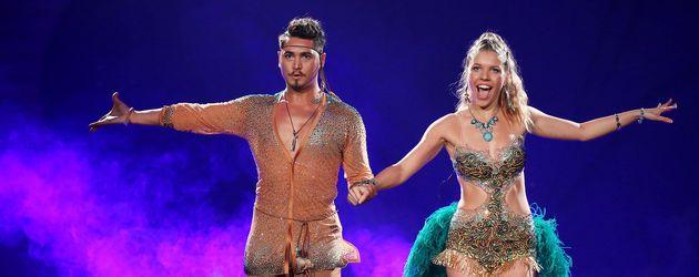 """Erich Klann und Victoria Swarovski bei """"Let's Dance"""""""
