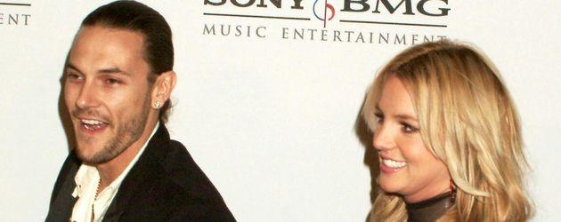 Kevine Federline und Britney Spears