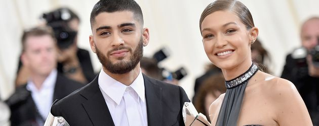 Zayn Malik und Gigi Hadid bei der 'Manus x Machina: Fashion In An Age Of Technology' Costume Institu