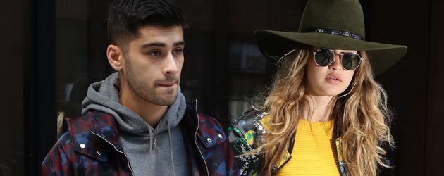 Zayn Malik und Gigi Hadid in New York