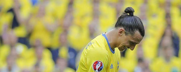 Zlatan Ibrahimovic beim Spiel Irland vs. Schweden bei der EM 2016